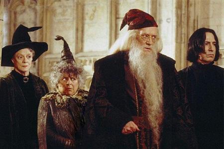 Profesores respondiendo dudas sobre magia
