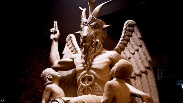 Estatua de Baphomet