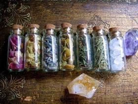Fabricar botellas de brujas