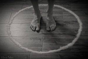 El círculo mágico de protección