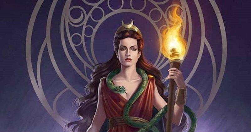 Imagen representativa de la deidad de los brujos