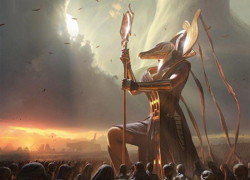 Las estatuas a los dioses paganos era una forma de reverencia