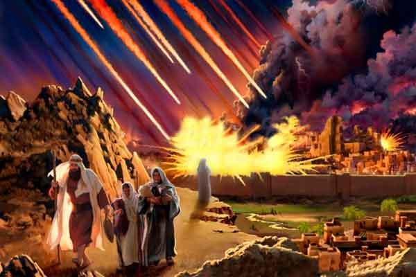 Castigo de Dios hace llover fuego