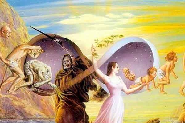 La vida después de la muerte como un ciclo eterno